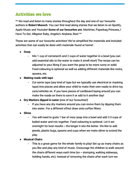Jr Preschool plan page 6